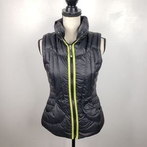 Halifax Traders Black Nylon Packable Puffer Vest S